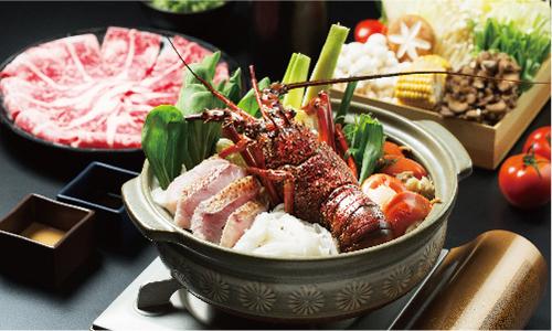 龍蝦海陸火鍋套餐一泊二食專案